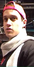 Director Mitja Okorn at the Berlinale Talent Campus 2003