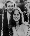 Patty Hearst and Steven Weed - official engagement photo