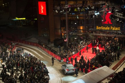 red-carpet scenes at the Berlinale Palast