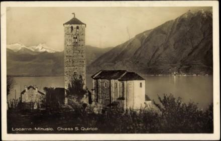 San Quirico & lake, Minusio