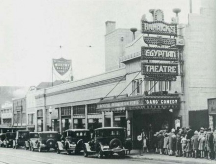 The Egyptian, opening day, 1925